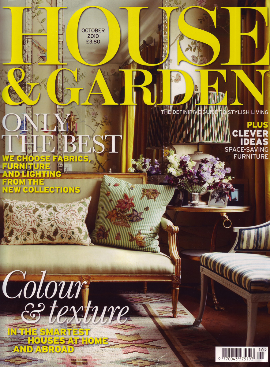 Library chair featured in house and garden groupdesign for Front of house magazine